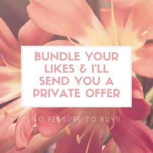 Other - 🌸BUNDLES TURN INTO OFFERS🌸
